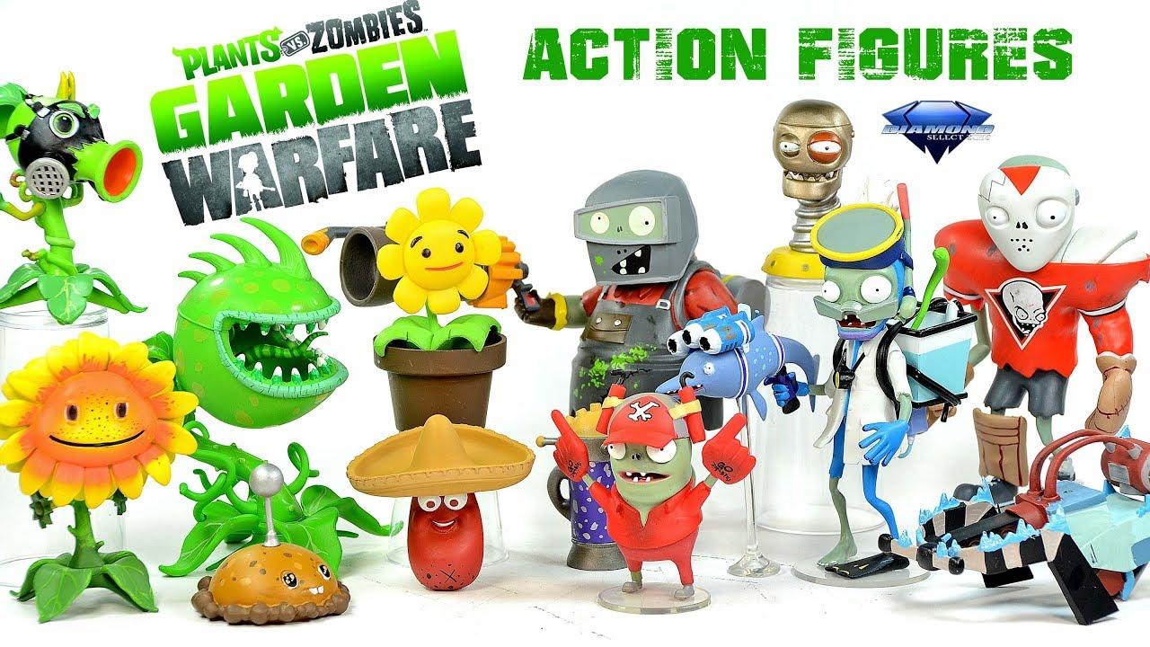 Plants Vs Zombies Garden Warfare Series 2 Figures W