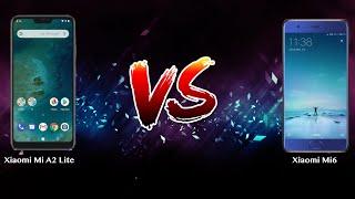 Xiaomi Mi A2 Lite vs Xiaomi Mi6   - Phone battle