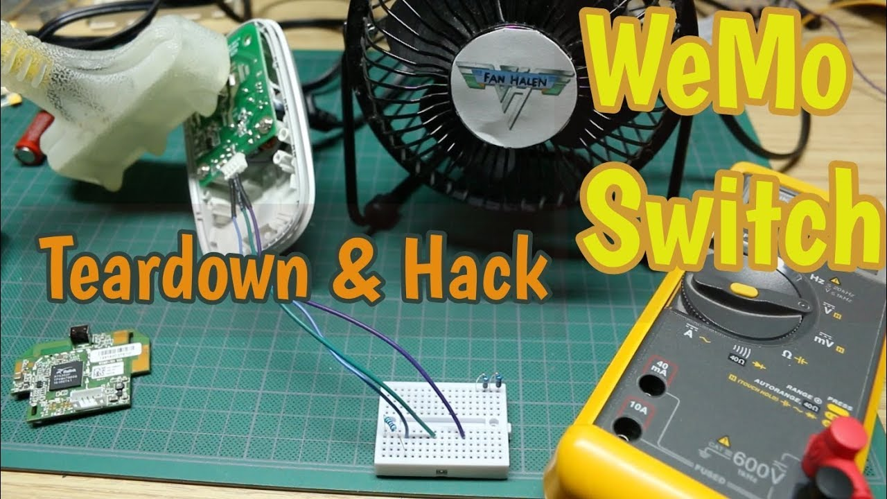 WeMo Switch Teardown and Takeover