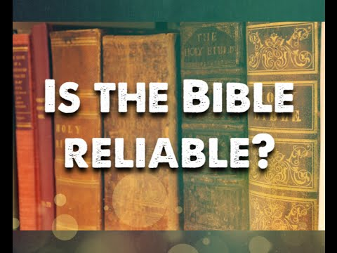 Is the Bible Reliable? - Is the Bible from God? (Eric Lyons)
