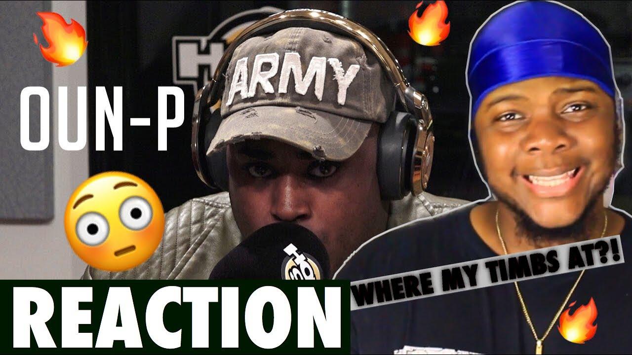 Oun-P Freestyles on Flex | Freestyle #028 [REACTION]??!!!!
