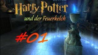 Lets play Harry Potter und der Feuerkelch ♦ Part #1 - Aller Anfang ist schwer... [German/HD]