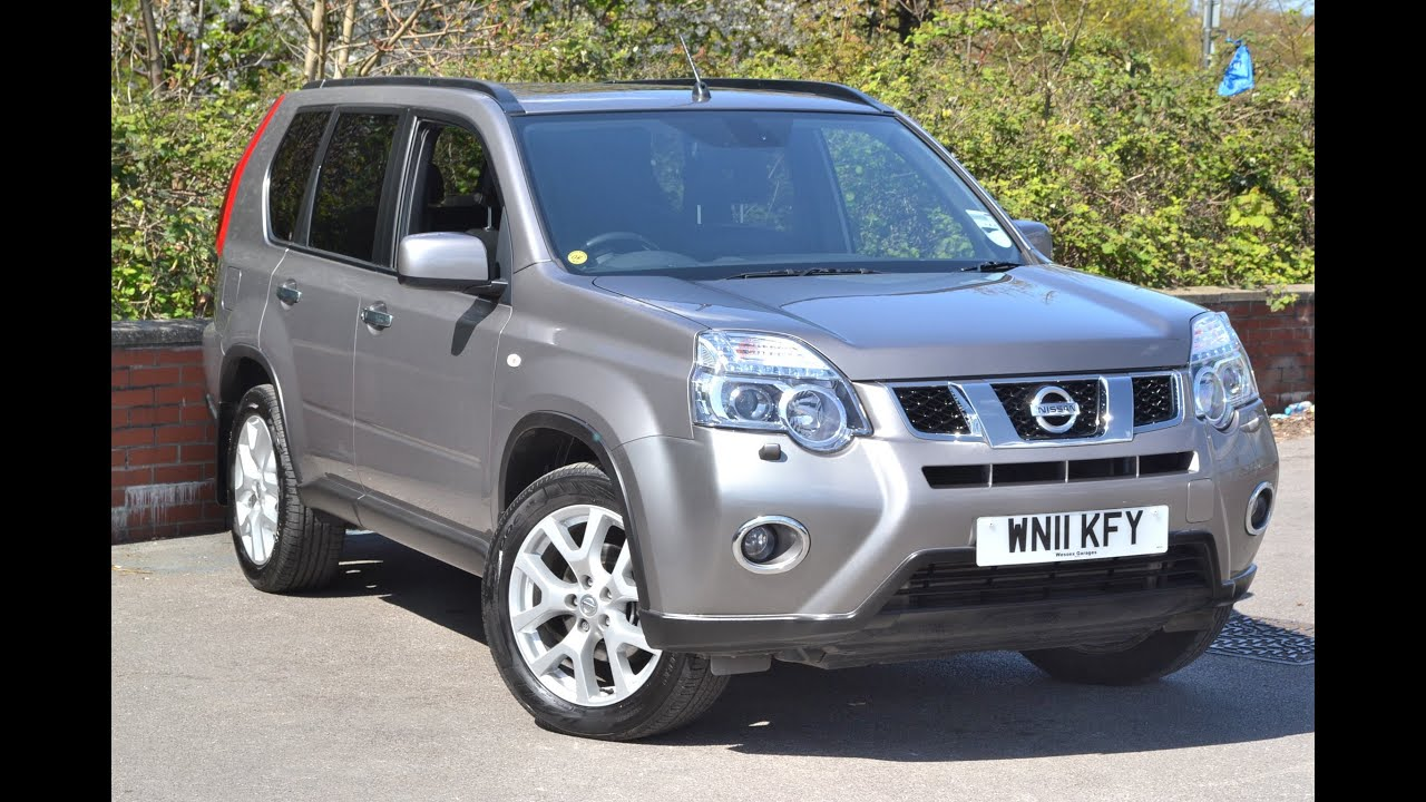 wn11kfy used nissan x trail tekna suv at wessex garages pennywell road bristol youtube. Black Bedroom Furniture Sets. Home Design Ideas