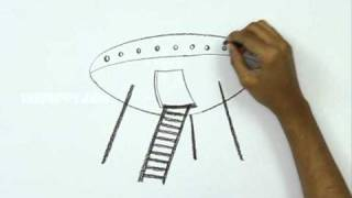 How to Draw a Space ship