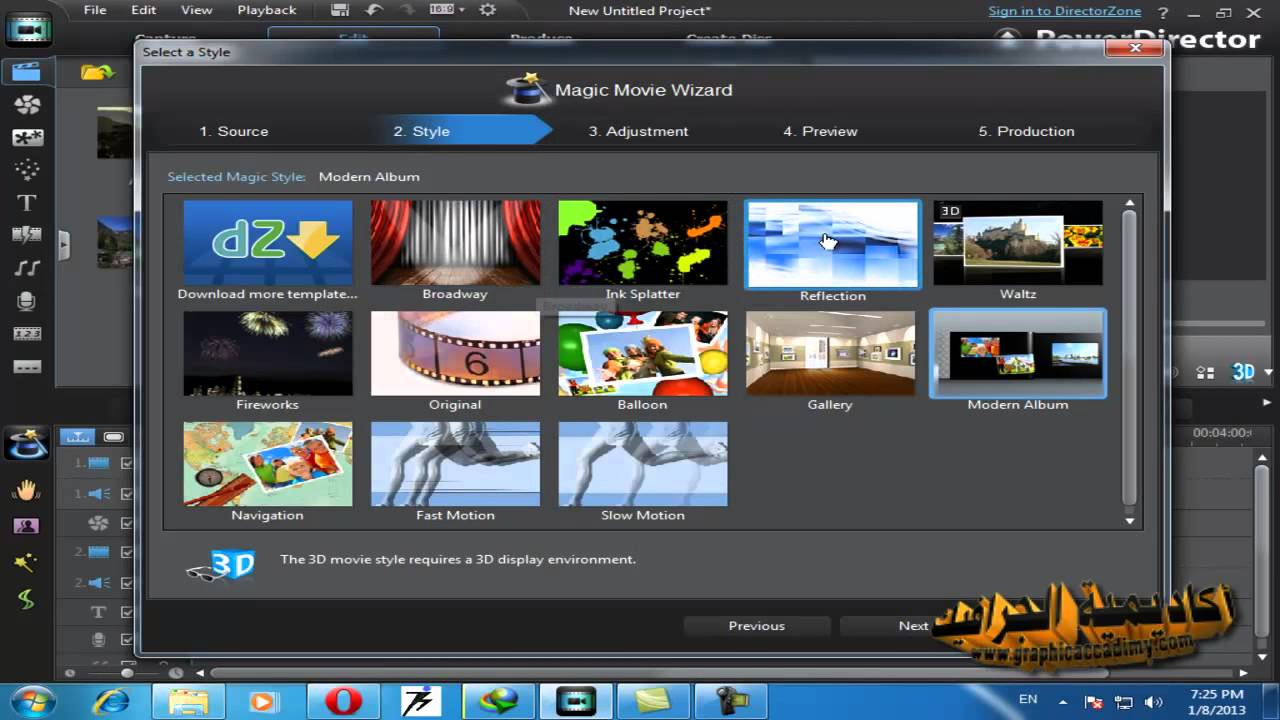 درس 17 دورة تعلم برنامج مونتاج الاعراس Cyberlink Powerdirector 10 Ultra Youtube