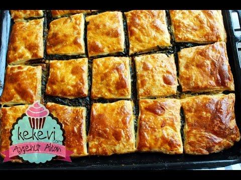Ispanaklı Börek (Kolay El Açması Kat Kat Börek) | Ayşenur Altan Yemek Tarifleri