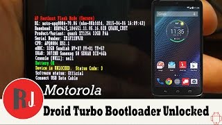 Motorola Droid Turbo Root & Bootloader unlock Tutorial with SunShine App & No PC