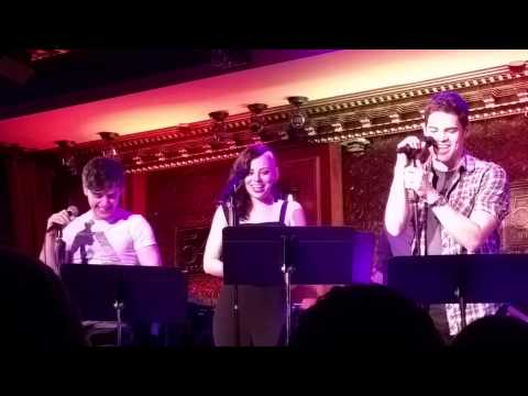 Jeremy Jordan, Krysta Rodriguez, Andy Mientus - Under Pressure - 54 Below