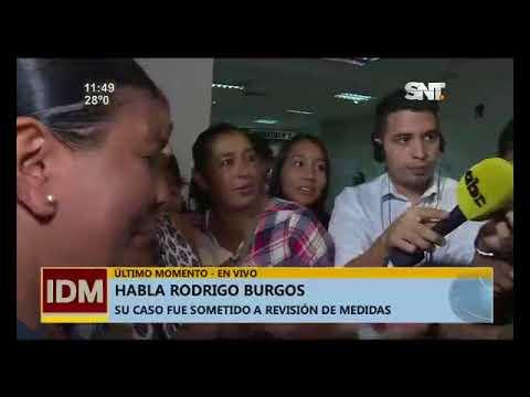 Impactantes declaraciones de Rodrigo Burgos