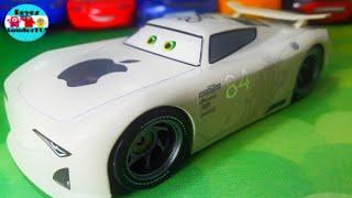 Cars 3 J.P Drive Apple car next gen piston cup racer chaser series diecast 1:43