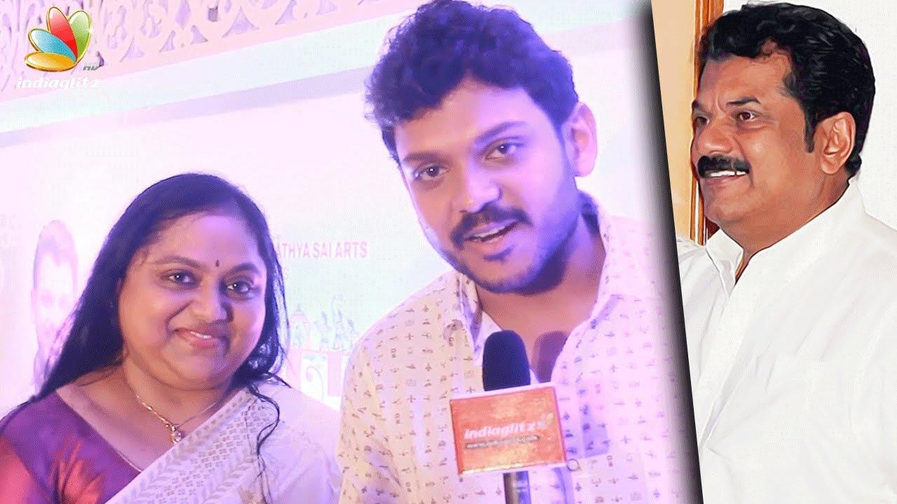Actor Mukesh unites with ex-wife Saritha to launch their son Shravan |  Latest Speech
