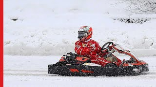 Kimi in Drone Race 360° | Shell #Motorsport