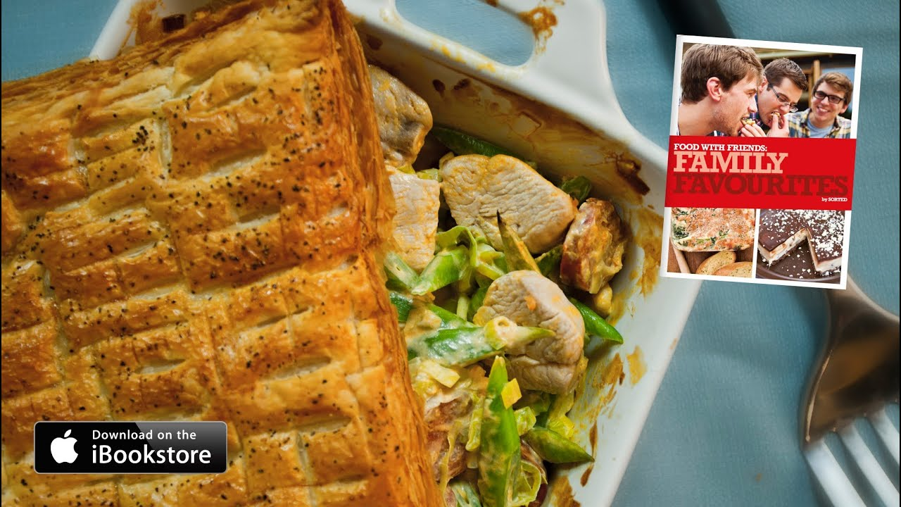 Chicken chorizo puff pie recipe family favourites youtube forumfinder Image collections