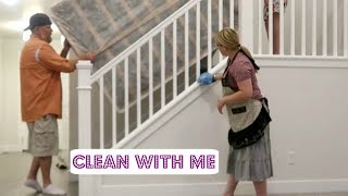 NEW HOME CLEAN WITH ME ~ Getting ready for moving day!