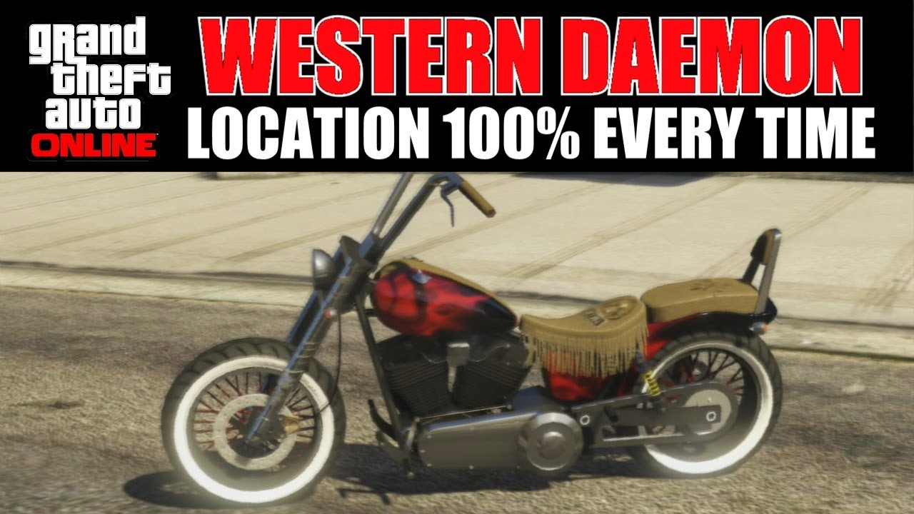 GTA Online - Where to find a Western Daemon 100% Every ... Gta V Western Daemon