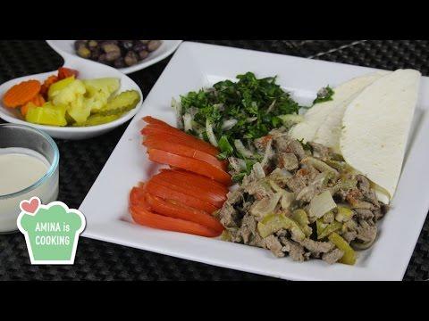 how to make beef shawarma recipe