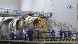 Наземные испытания модуля «Наука»