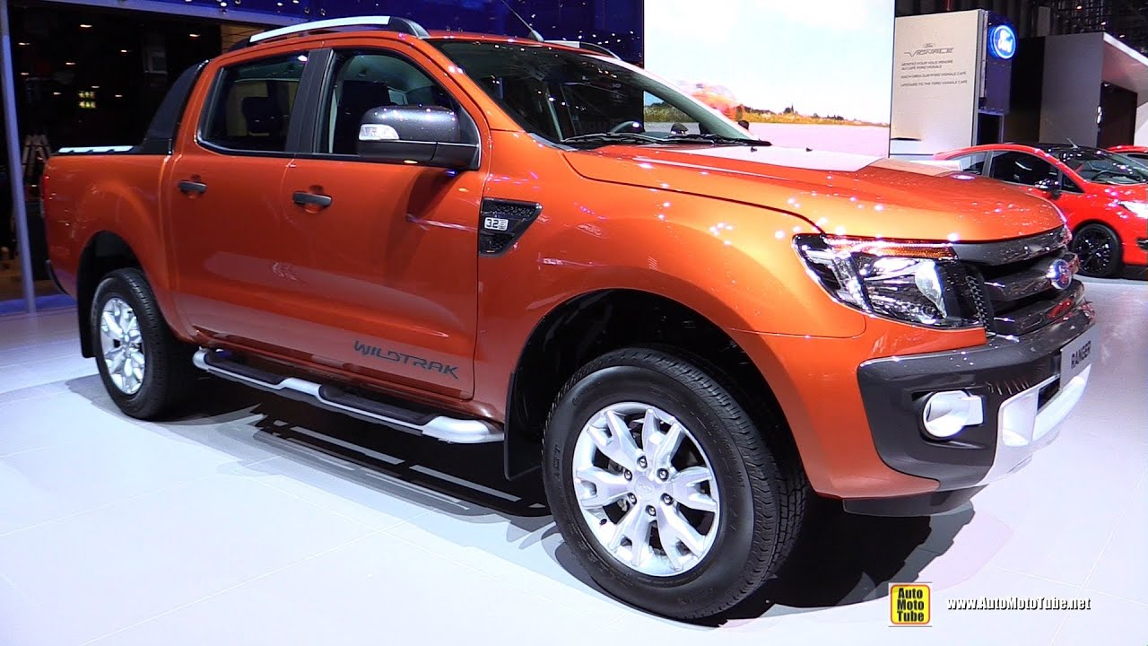 2015 ford ranger wildtrack exterior and interior walkaround 2015 geneva motor show youtube