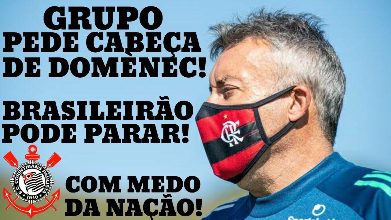 BOMBA INTERNA! GRUPO PEDE DEMISSÃO DE DOME! BRASILEIRÃO PODE PARAR! CORINTHIANS COM MEDO DA NAÇÃO!