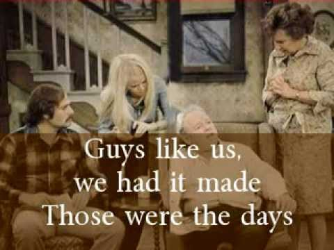 All in the Family Theme Song - with Lyrics
