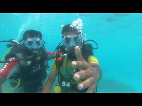 Scuba diving in lakshadweep (underwater planet)