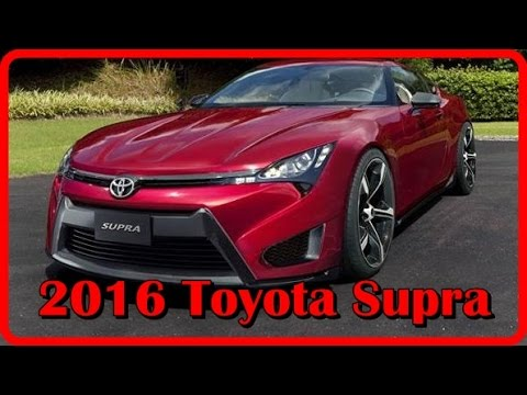 2016 toyota supra exterior and interior youtube. Black Bedroom Furniture Sets. Home Design Ideas