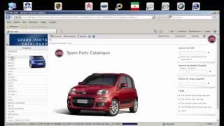 Каталог запчастей Alfa Romeo Fiat Lancia EPC System
