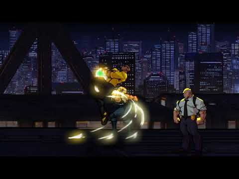 Game In Reverse - Streets of Rage 4 (Skytrain) |