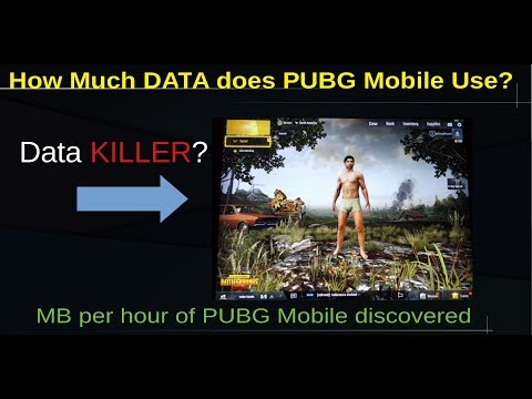 How Much DATA Does PUBG Mobile Use? (MB Per Hour)