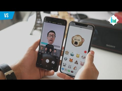 Animojis (iPhone X) vs AR Emojis (Galaxy S9)