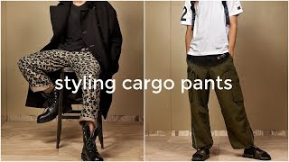 HOW TO STYLE CARGO PANTS | 5 Outfit Ideas | Streetwear Lookbook| Daniel Simmons