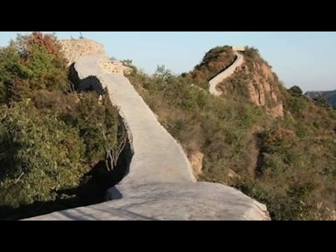 World's worst restoration? Great Wall covered in cement