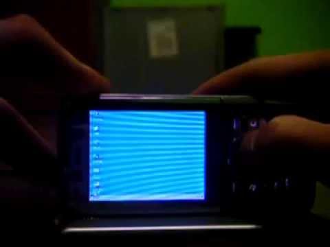 Windows 95 on Nokia N82