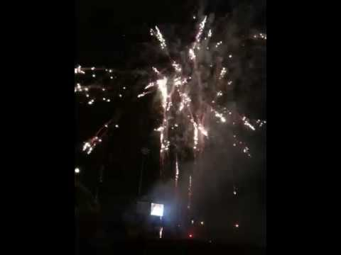 Tulsa drillers last game in stadium fireworks show