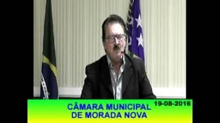 Pronunciamento Roberto Meneses 19 08 16