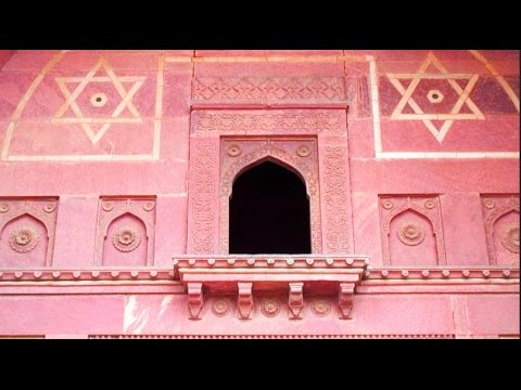 Travel India Part 5 Israel's Sacred Star of David at the Agra Fort