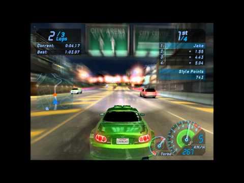 Прохождение Need for Speed: Underground - #1 [Возвращение FailRacerа]