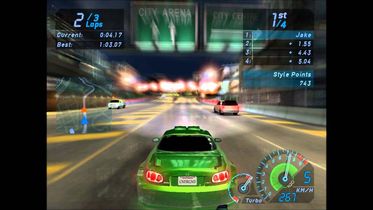 Need For Speed Underground 1 Gameplay PC YouTube
