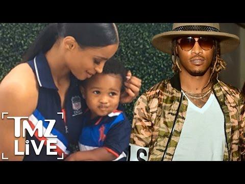 Future & Ciara's Baby War | TMZ Live Mp3