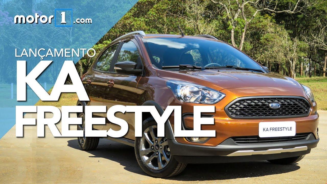 Novo Ford Ka Freestyle 2019 Lancamento E Impressoes Youtube