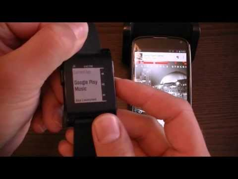 Music Boss for Pebble - Total control of your Music with your Pebble Smartwatch