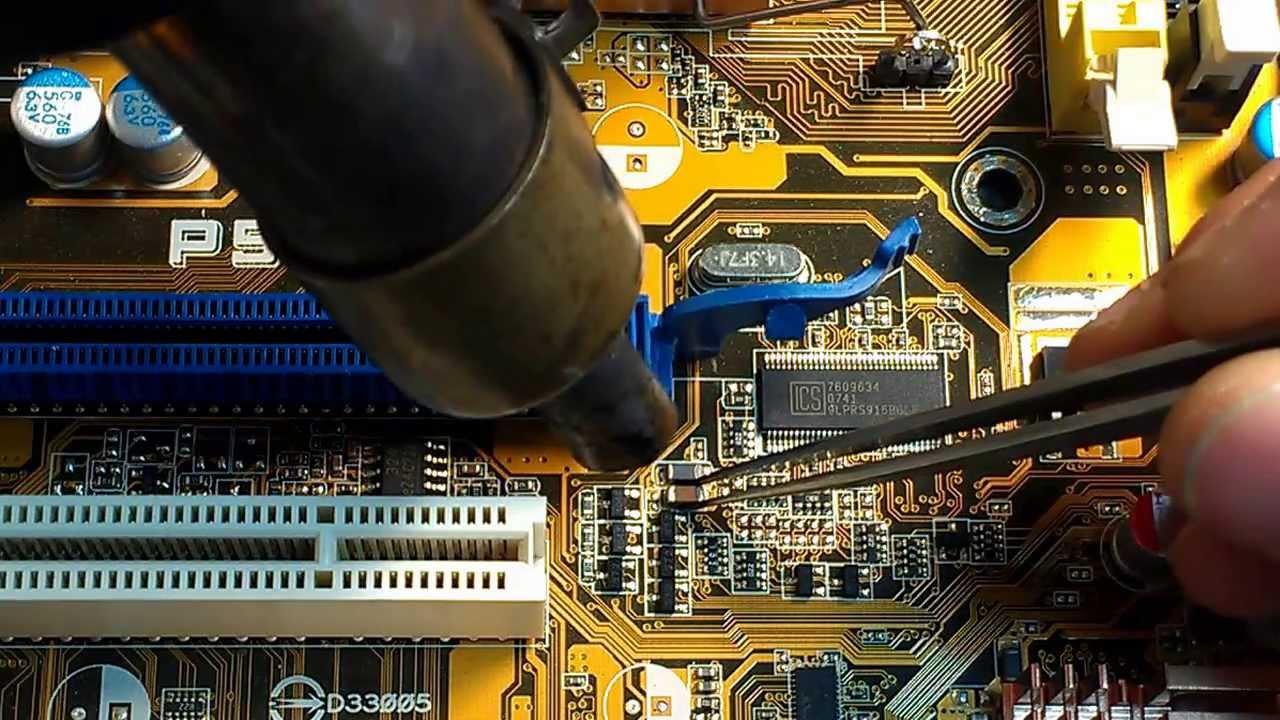 Как отремонтировать ноутбук своими руками? Мастер 32