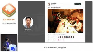 Journey of iOS Conf SG - iOS Conf SG 2019