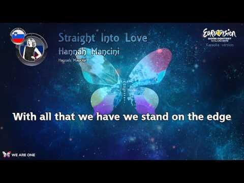 "Hannah Mancini - ""Straight Into Love"" (Slovenia) - Karaoke version"