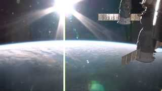 Space Sunrise and Sunset from the ISS [HD]