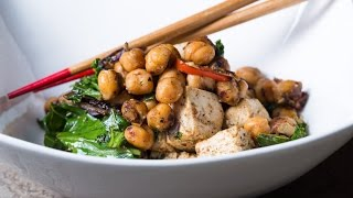 Chickpea & Tofu Stir Fry Recipe By Sam The Cooking Guy