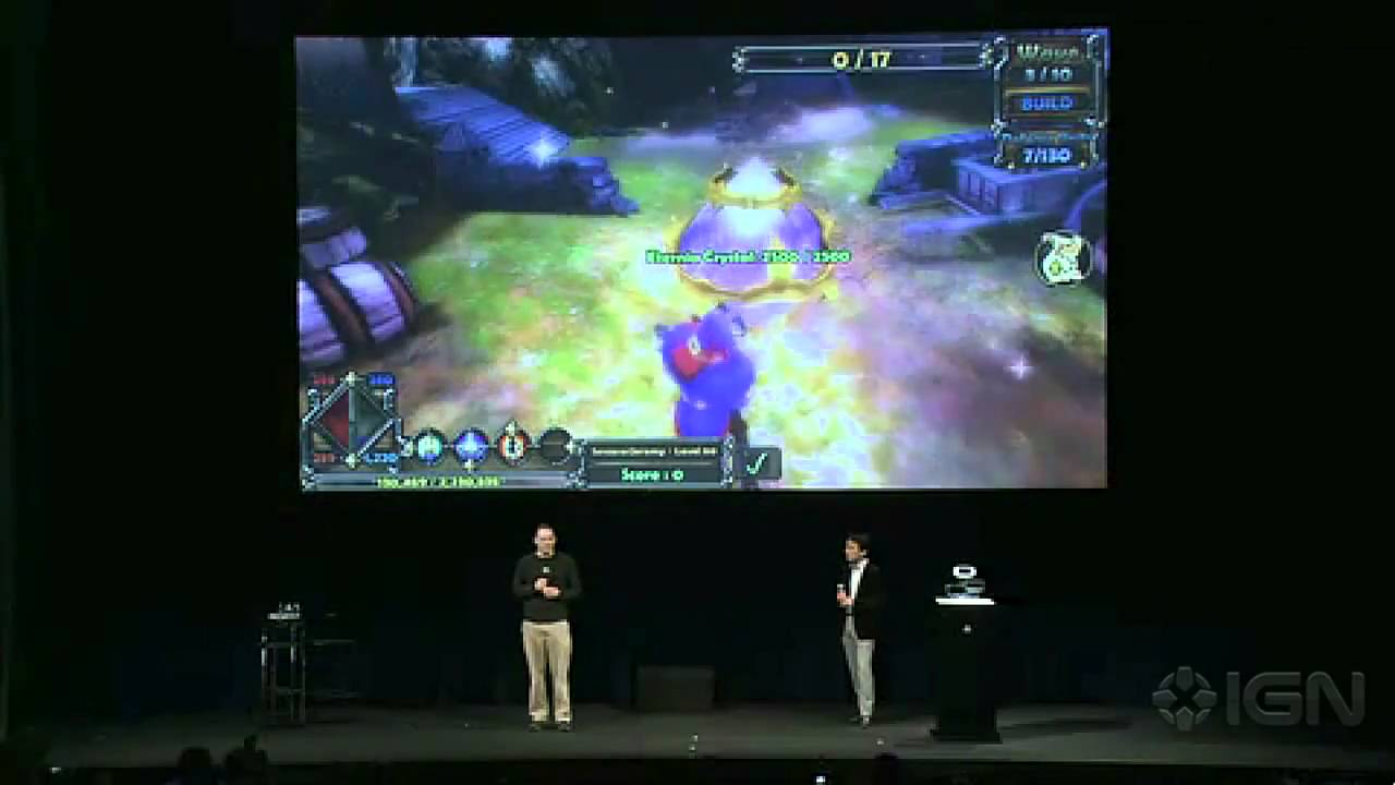 Sony NGP Epic Games - Playstation Meeting 2011 - YouTube