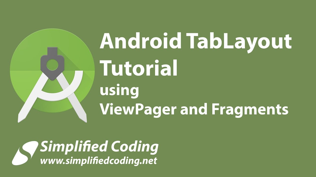 Android TabLayout Example using ViewPager and Fragments