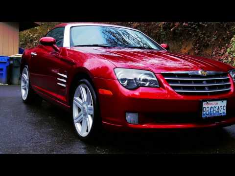 2006 Chrysler Crossfire Review- Its A Manual!!! - Made Like A Sports Car
