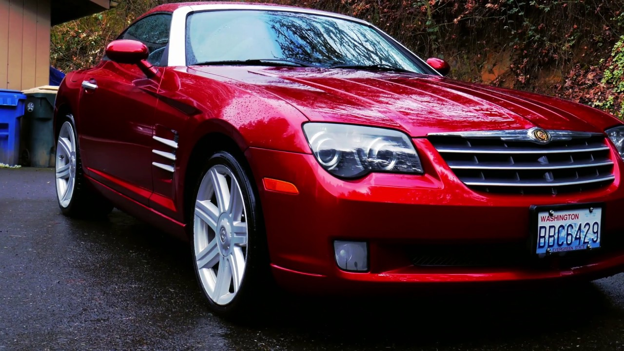 2006 Chrysler Crossfire Review Its A Manual Made Like Sports Car